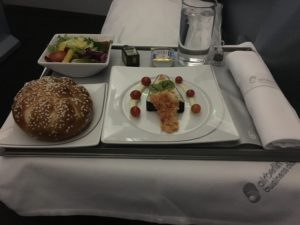 Airberlin Business Class Dinner