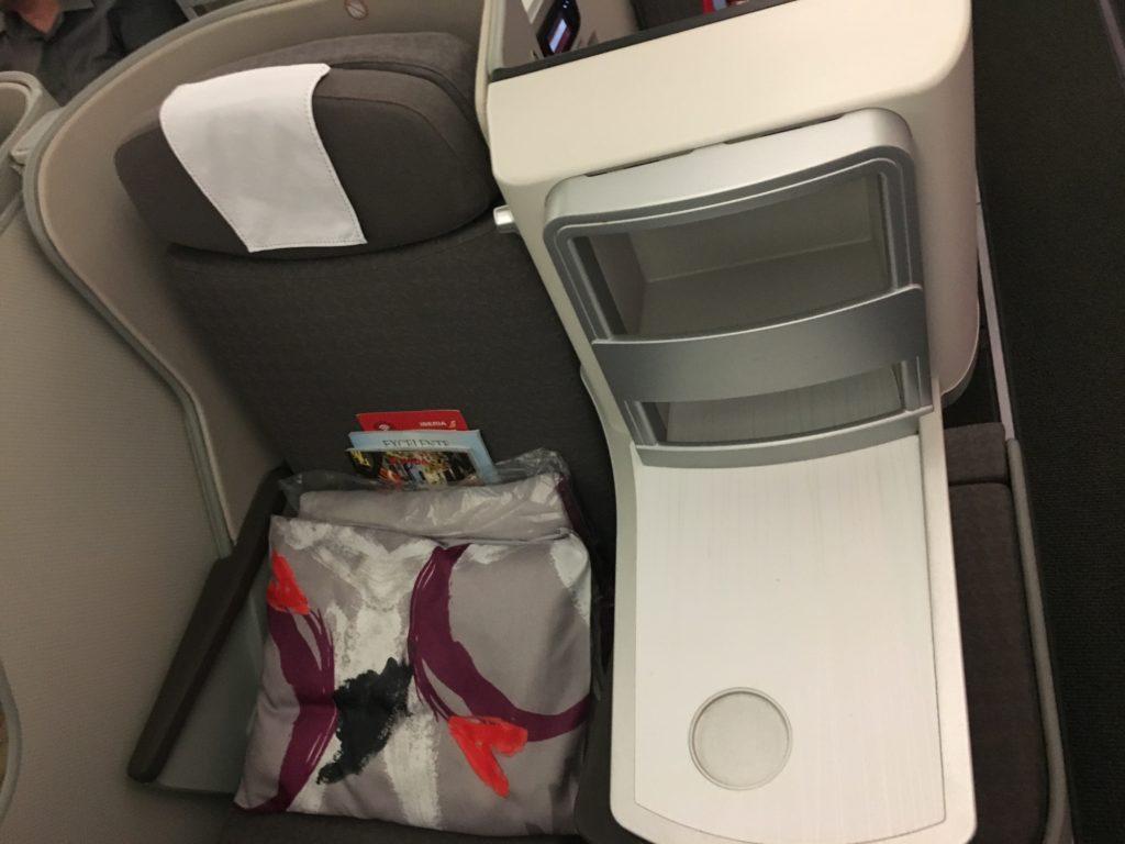 Iberia A340-600 Business Class Seat 6E