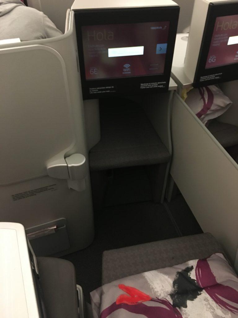 Iberia A340-600 Business Class Sitz 6E