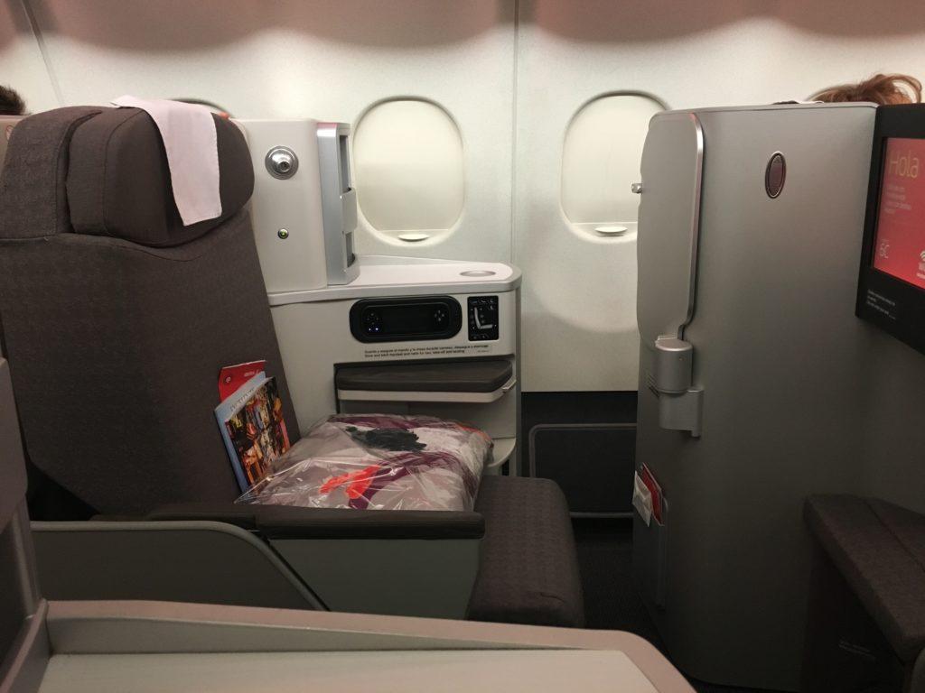 Iberia A340-600 Business Class Seat 5C