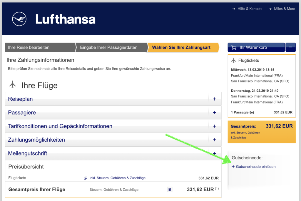 Blackfriday Lufthansa 30 Gutschein Fly If You Can