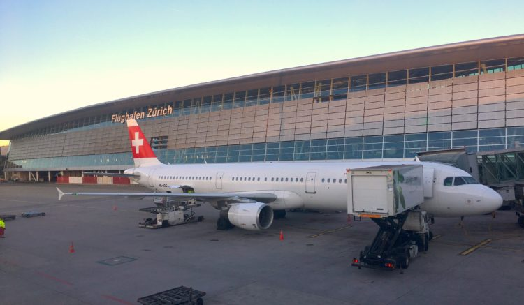 Swiss Airbus 321 - HB-IOC @ Zurich Airport