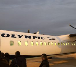 Olympic Plane DHC 8 400